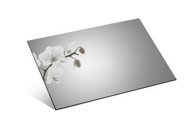 - 1mm Ayna Pleksi Gümüş - Yapışkanlı 81x61 Cm