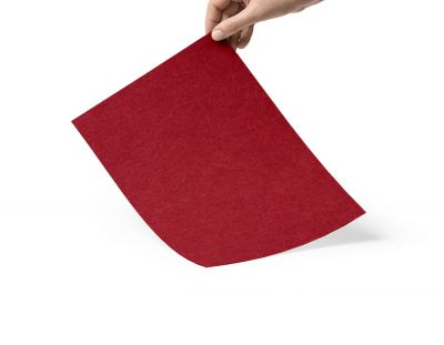 - Kırmızı 3mm keçe