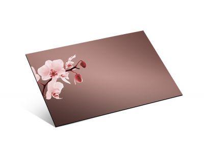 1,2mm Ayna Pleksi Bronz - Yapışkansız 81x61 Cm