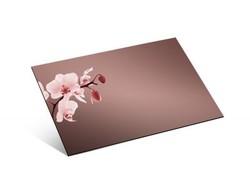 - 1,2mm Ayna Pleksi Bronz - Yapışkansız 81x61 Cm