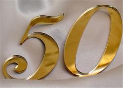 1,8mm Ayna Pleksi Altın - 81x61 cm - Thumbnail