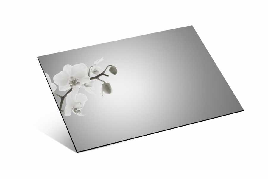1,8mm Ayna Pleksi Gümüş - 81x61 cm