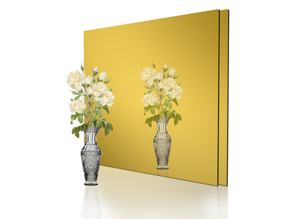 - 1mm Ayna Pleksi Altın - Yapışkansız 30x40 Cm ( 1 Parça)