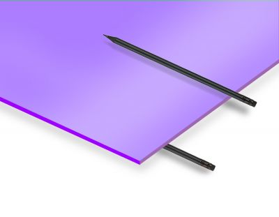 - 2.8 mm Lila Renkli Pleksiglas 30x40 Cm