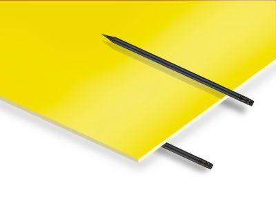 - 2.8 mm Sarı Renkli Pleksiglas 67x100 cm