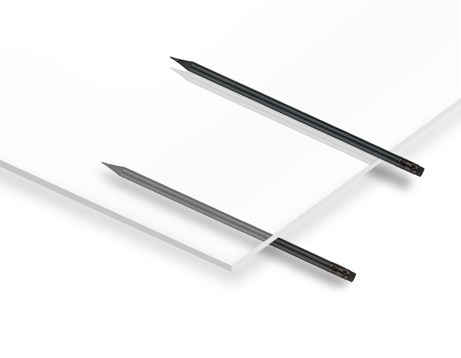 2.8 mm Şeffaf Pleksiglas 67x100 cm