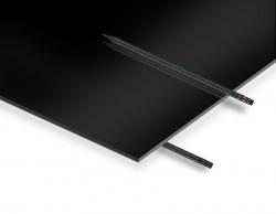 2.8 mm Siyah Pleksiglas 67x100 cm - Thumbnail