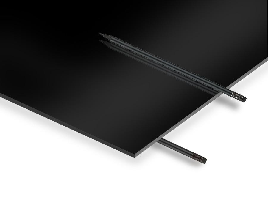 2.8 mm Siyah Pleksiglas 67x100 cm