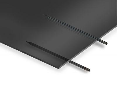 - 2.8 mm Transparan Siyah Pleksiglas 67x100 cm