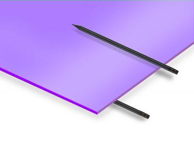 - 2.8 mm Lila Renkli Pleksiglas 33x50 Cm