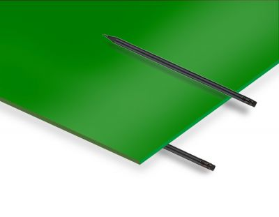 - 2.8 mm Yeşil Renkli Pleksiglas 67x50 Cm