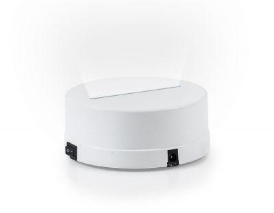 - 3D Gece Lamba Kaidesi - Beyaz - Led Rengi - Beyaz