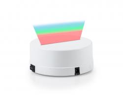 3D Gece Lamba Kaidesi - Beyaz - Led Rengi - RGB - Thumbnail