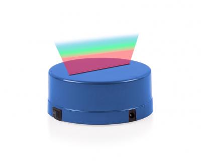 - 3D Gece Lamba Kaidesi - Mavi - Led Rengi - RGB