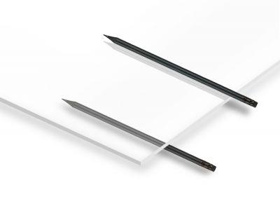 - 7.8mm Şeffaf Pleksiglas 67x100 cm