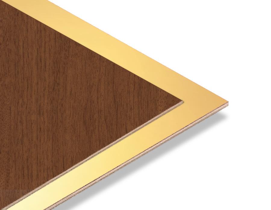 Altın Yaldız - Ceviz Mdf - 85x70 cm (1 Parça)