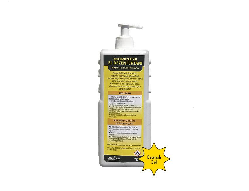 Antibakteriyel El Dezenfektanı 1 Litre Jel (Esanslı)