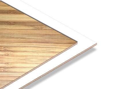 - Bambu - Beyaz 2.7mm Mdf - 85x68 cm (1 Parça)