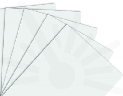 - Beyaz Tek Yüz Mdf 2.7 mm 30x40cm ( 5 Parça )