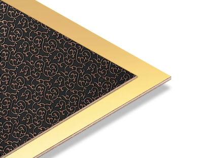 - Brode Bakır - Altın Yaldız Mdf - 85x68 cm (1 Parça)