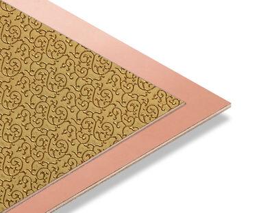- Brode Gold - Bakır Yaldız Mdf - 85x68 cm (1 Parça)