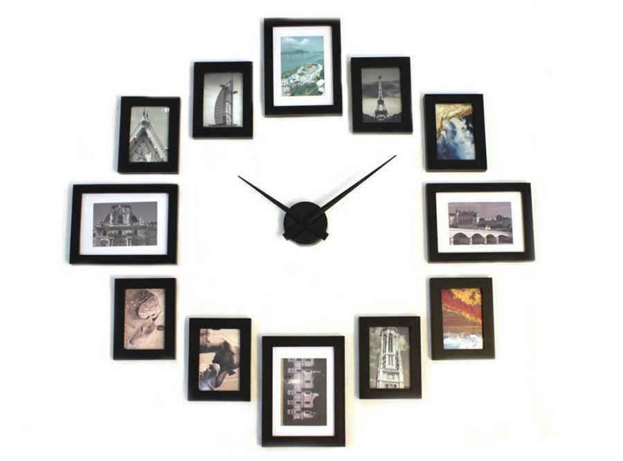 Büyük Duvar Saati Mekanizması - Siyah