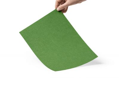 - Çim Yeşili 1mm keçe