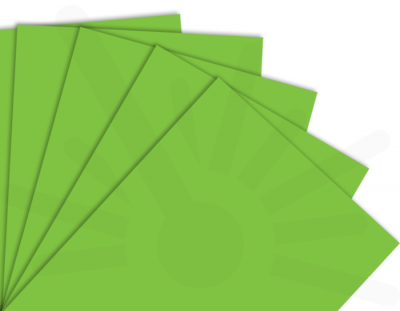 - Çim Yeşili Tek Yüz Mdf 2.7 mm 60x40 Cm ( 1 Parça )