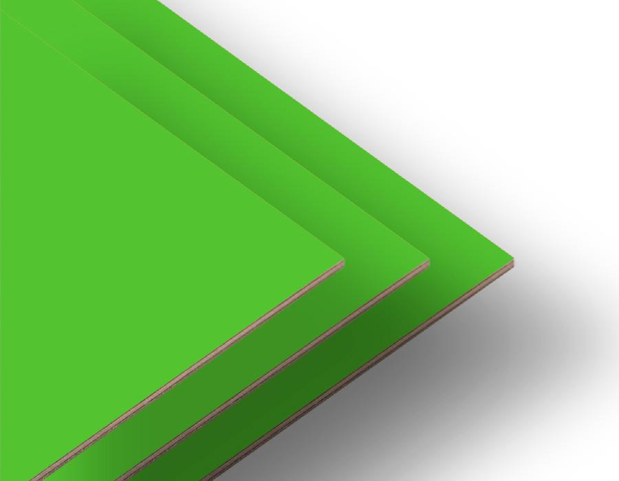 Çim Yeşili Tek Yüz Mdf 2.7 mm - 85x70Cm (6 Parça)