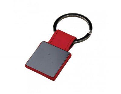 - Doly Metal ve Deri Anahtarlık Kırmızı