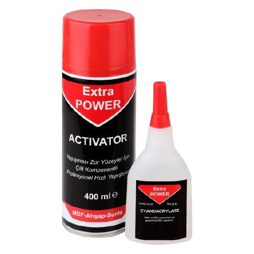 Extra Power Hızlı Yapıştırıcı 100 Gr - 400 Ml