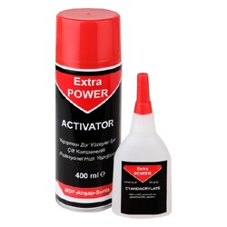 - Extra Power Hızlı Yapıştırıcı 100 Gr - 400 Ml