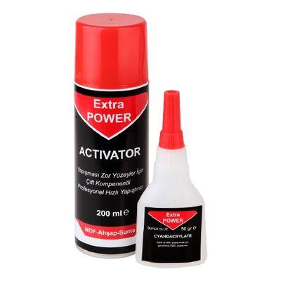 - Extra Power Hızlı Yapıştırıcı 50 Gr - 200 Ml