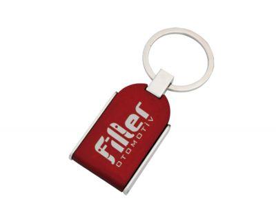 - Foto Plastik Anahtarlık Kırmızı