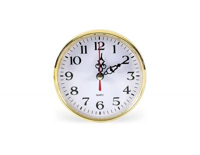 - Geçme Saat Çap:110mm Altın Pilsiz - (10 LU PAKET)