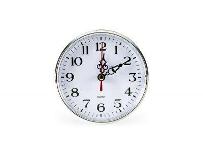- Geçme Saat Çap:80mm Gümüş Pilsiz - (10 LU PAKET)