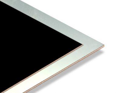- Gümüş Yaldız - Siyah 2.7mm Mdf - 85x68 cm (1 Parça)