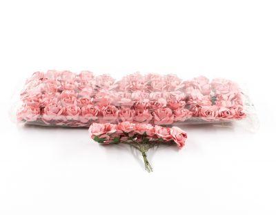 - Kağıt Gül Mini Somon 120 Adet