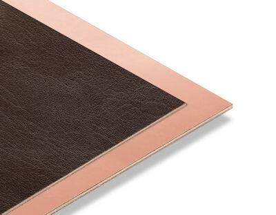 - Kahve Rengi Rustik - Bakır Yaldız Mdf - 85x68 cm (1 Parça)