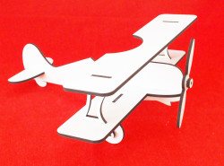 Kar Beyaz Çift Yüz Boyalı 2.7mm Mdf - 105x85 Cm (4 parça) - Thumbnail