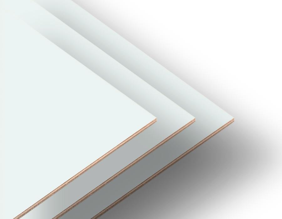 Kar Beyaz Çift Yüz Boyalı 2.7mm Mdf - 105x85 Cm (4 parça)