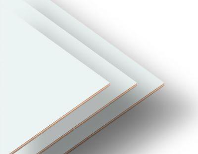 - Kar Beyaz Çift Yüz Boyalı 2.7mm Mdf - 52x85 Cm (8 parça)