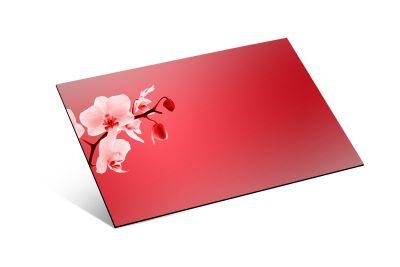 - 1,8mm Kırmızı Ayna Pleksi - 81 X 61 cm