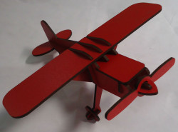 Kırmızı Çift Yüz Boyalı 2.7mm Mdf - 52x85 Cm (8 Parça) - Thumbnail