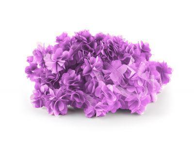 - Şifon Çiçek Açık Mor