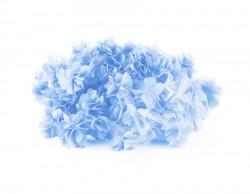 Şifon Çiçek Bebe Mavisi - Thumbnail