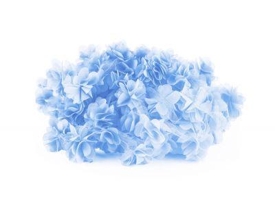 - Şifon Çiçek Bebe Mavisi