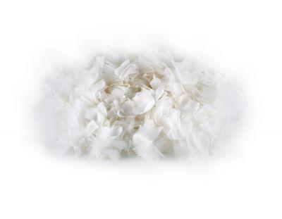 - Şifon Çiçek Beyaz