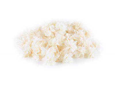 - Şifon Çiçek Kırık Beyaz