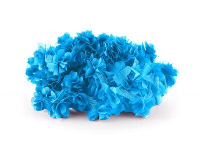 - Şifon Çiçek Mavi